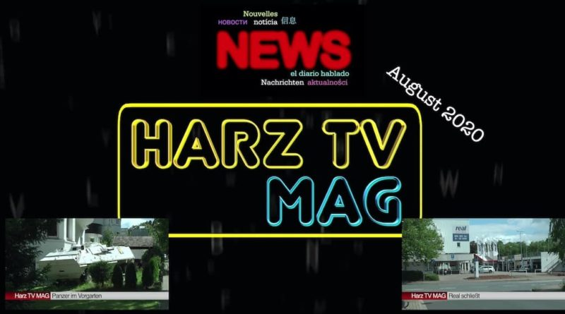 HarzTV MAGazin – August 2020